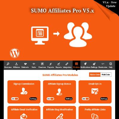 SUMO Affiliates Pro - WordPress Developers Club